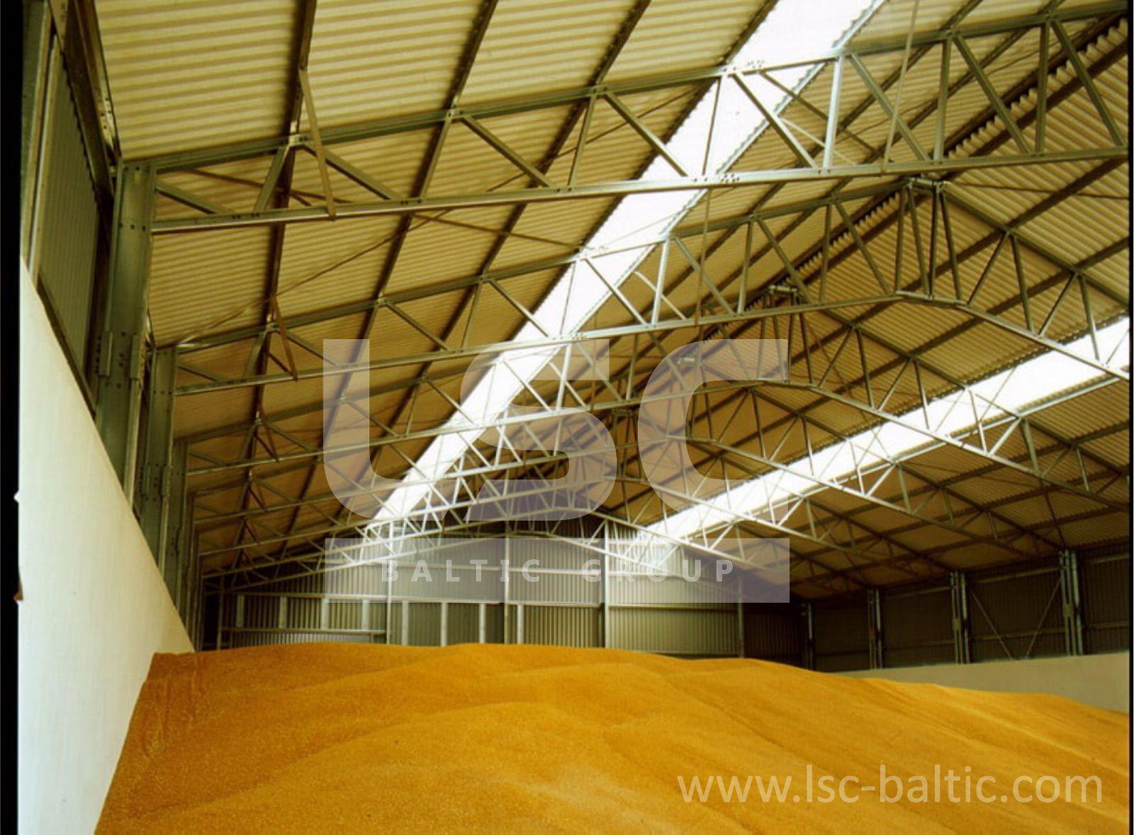 Как сделать ангар под зерно